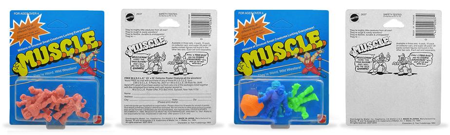 M.U.S.C.L.E.-4-packs